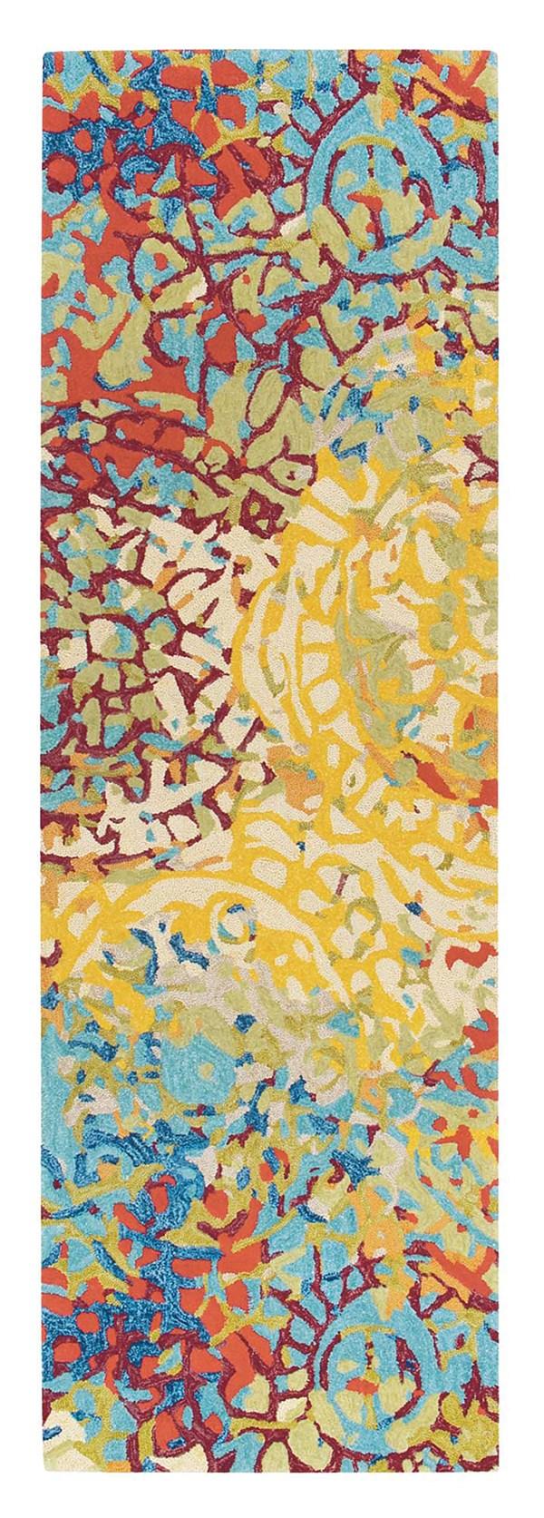 Yellow (10286) Contemporary / Modern Area Rug