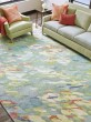 Product Image of Grey, Green (10259) Abstract Area Rug