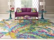 Product Image of Green (10261) Abstract Area Rug
