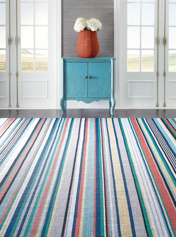 Blue (10731) Outdoor / Indoor Area Rug