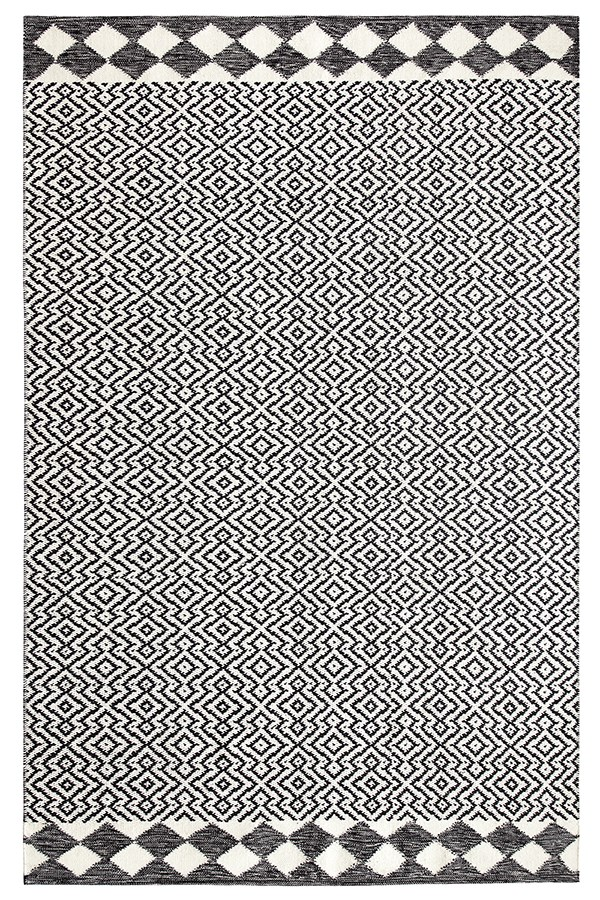 Black (10761) Outdoor / Indoor Area Rug
