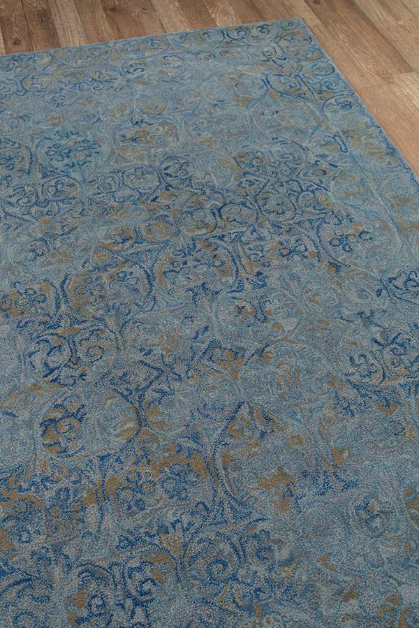 Blue Vintage / Overdyed Area Rug