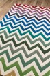 Product Image of Ivory, Green, Blue Contemporary / Modern Area Rug