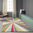 Product Image of Green Contemporary / Modern Area Rug