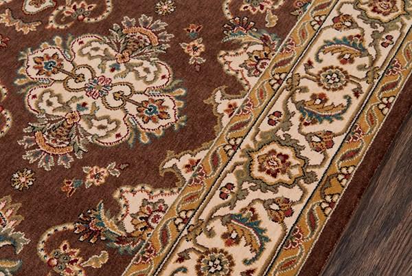 Cocoa Traditional / Oriental Area Rug