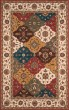 Product Image of Ivory, Chocolate Brown, Light Green Traditional / Oriental Area Rug