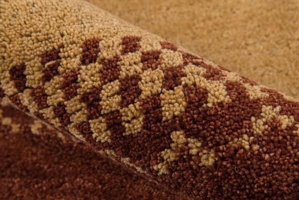 Gold, Dark Brown, Red Southwestern / Lodge Area Rug