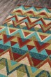 Product Image of Green, Red, Aqua Southwestern / Lodge Area Rug