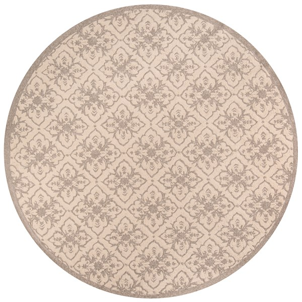 Taupe Moroccan Area Rug