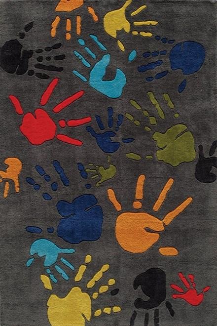 Gray Children's / Kids Area Rug