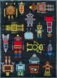 Product Image of Steel Blue Children's / Kids Area Rug
