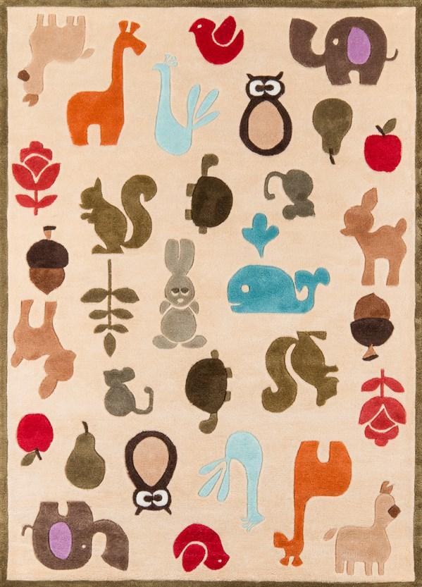 Ivory Children's / Kids Area Rug