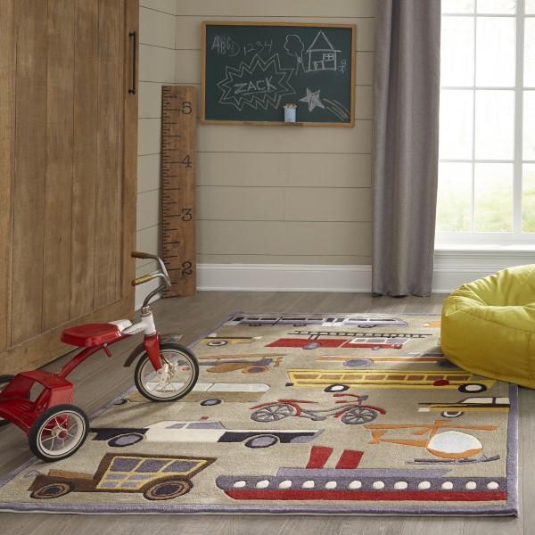Concrete Children's / Kids Area Rug