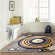 Product Image of Grey Contemporary / Modern Area Rug