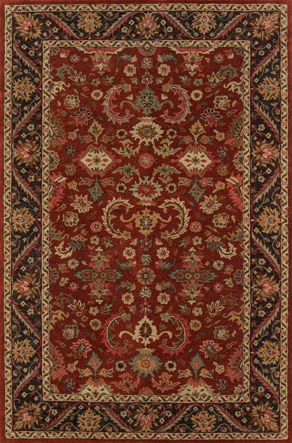 Pomegranate Traditional / Oriental Area Rug