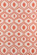 Product Image of Orange Moroccan Area Rug