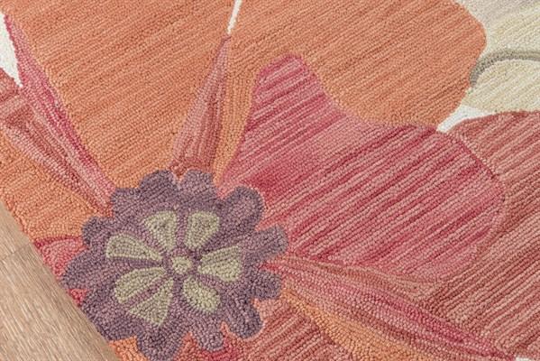 Sand Floral / Botanical Area Rug