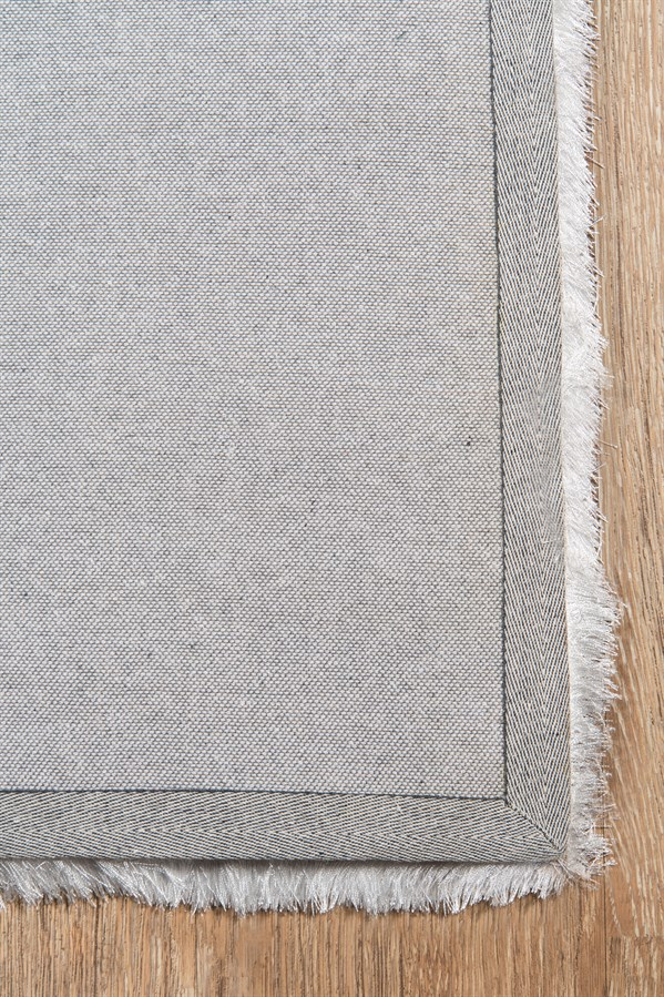 White Solid Area Rug