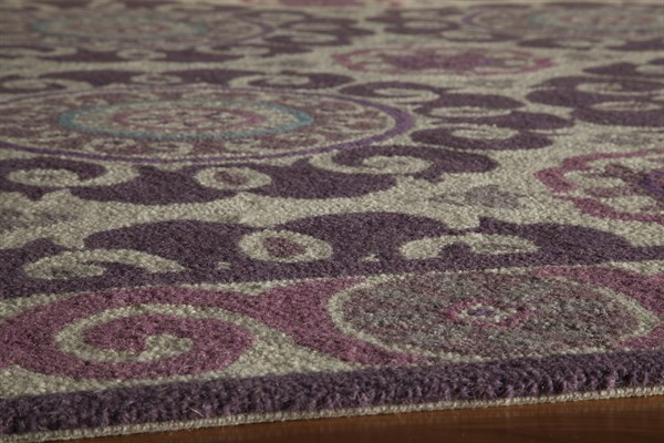 Purple Moroccan Area Rug