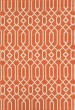 Product Image of Outdoor / Indoor Orange Area Rug