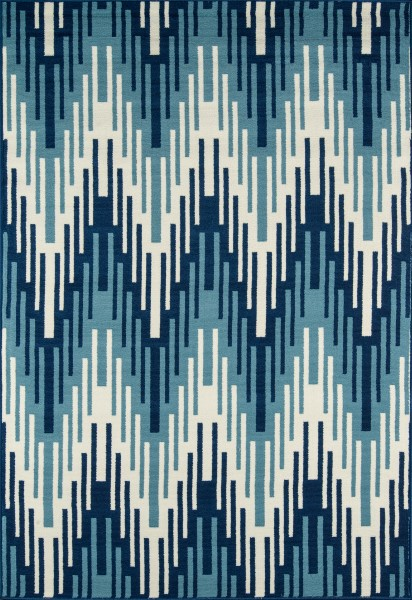 Blue Outdoor / Indoor Area Rug