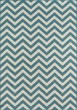 Product Image of Chevron Blue Area Rug
