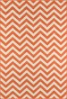 Product Image of Chevron Orange Area Rug