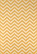 Product Image of Chevron Yellow Area Rug