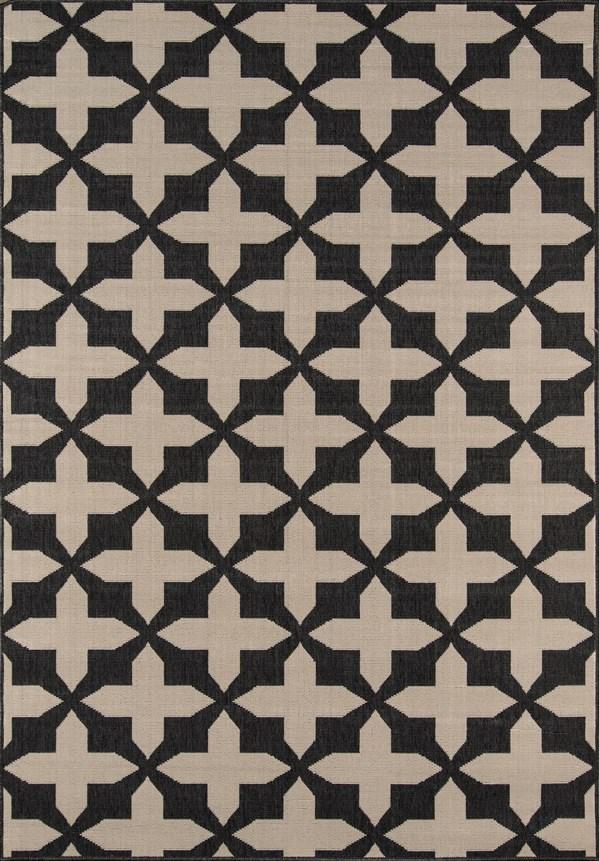 Charcoal Moroccan Area Rug