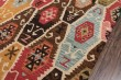 Product Image of Red, Light Blue, Brown, Gold Southwestern / Lodge Area Rug