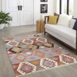 Product Image of Blue Bohemian Area Rug