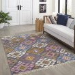Product Image of Grey Bohemian Area Rug