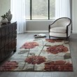 Product Image of Red, Brown Floral / Botanical Area Rug