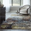 Product Image of Brown, Blue Contemporary / Modern Area Rug