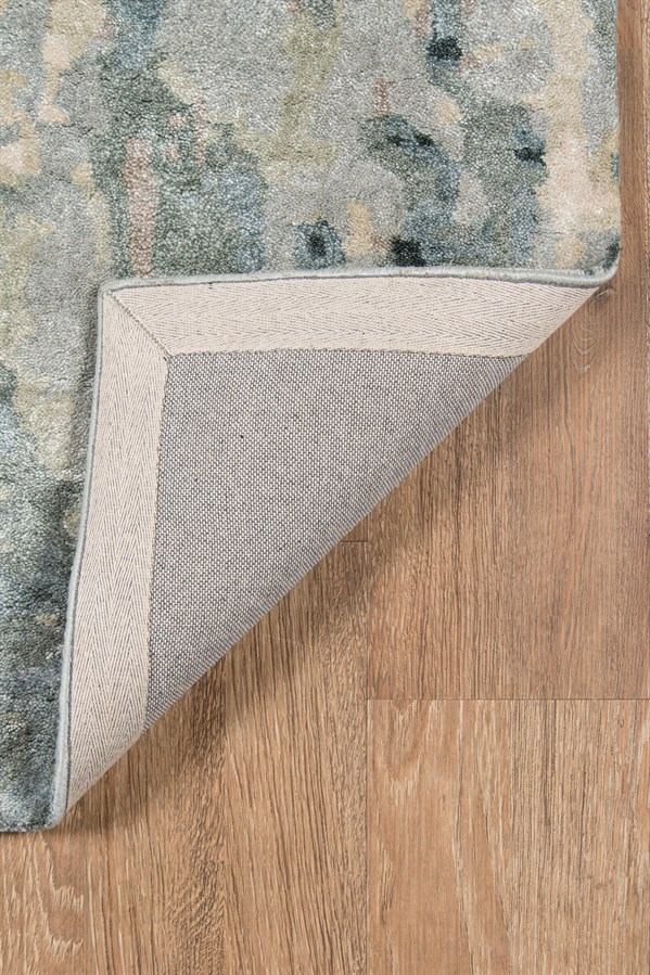Grey, Ivory Transitional Area Rug