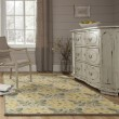 Product Image of Yellow, Green Floral / Botanical Area Rug