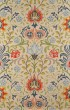 Product Image of Floral / Botanical Blue, Red Area Rug