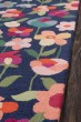 Product Image of Navy Floral / Botanical Area Rug
