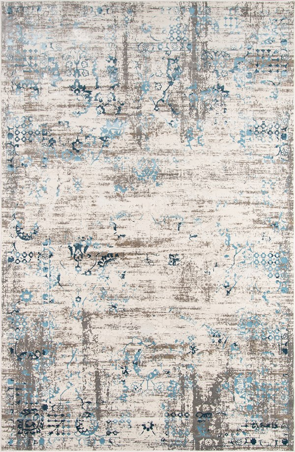 Blue Vintage / Overdyed Area Rug