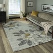 Product Image of Grey Floral / Botanical Area Rug