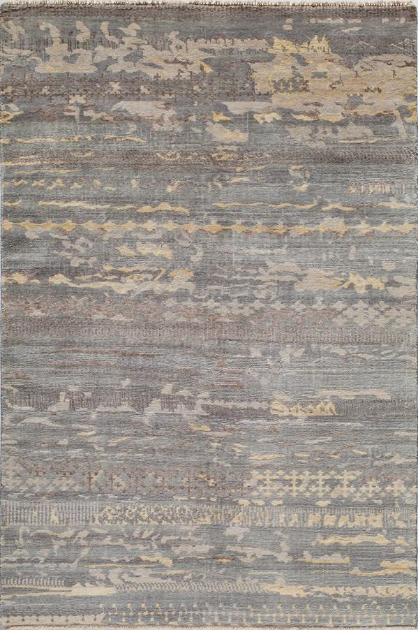 Grey Transitional Area Rug