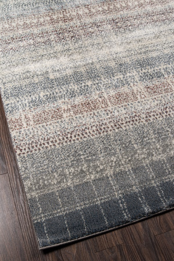 Ivory, Charcoal, Taupe Transitional Area Rug