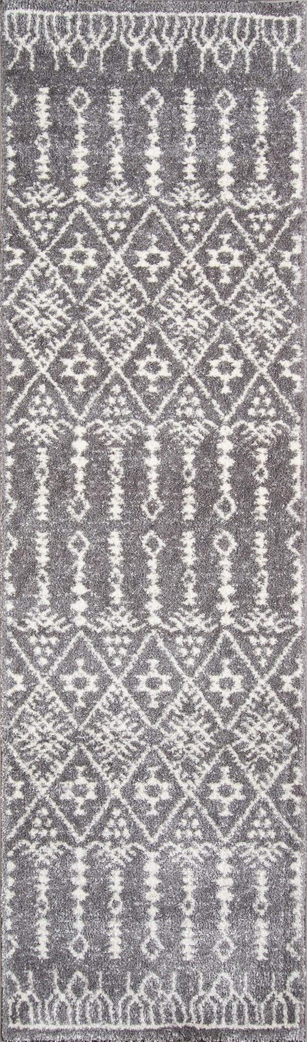 Grey Southwestern / Lodge Area Rug