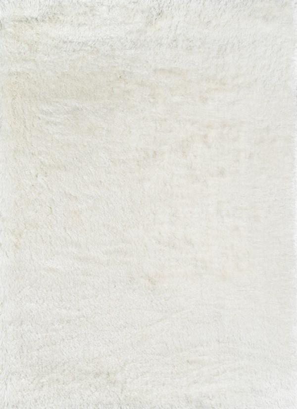 White Shag Area Rug