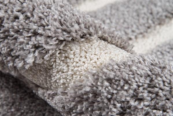 Grey Casual Area Rug