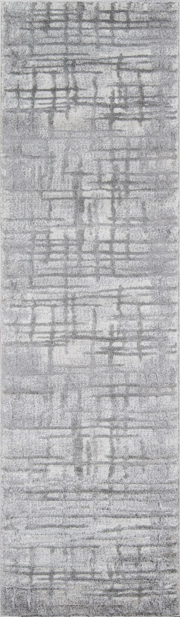 Grey Contemporary / Modern Area Rug