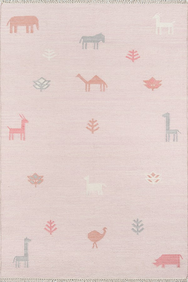 Pink (THO-2) Children's / Kids Area Rug