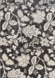 Product Image of Floral / Botanical Charcoal Area Rug