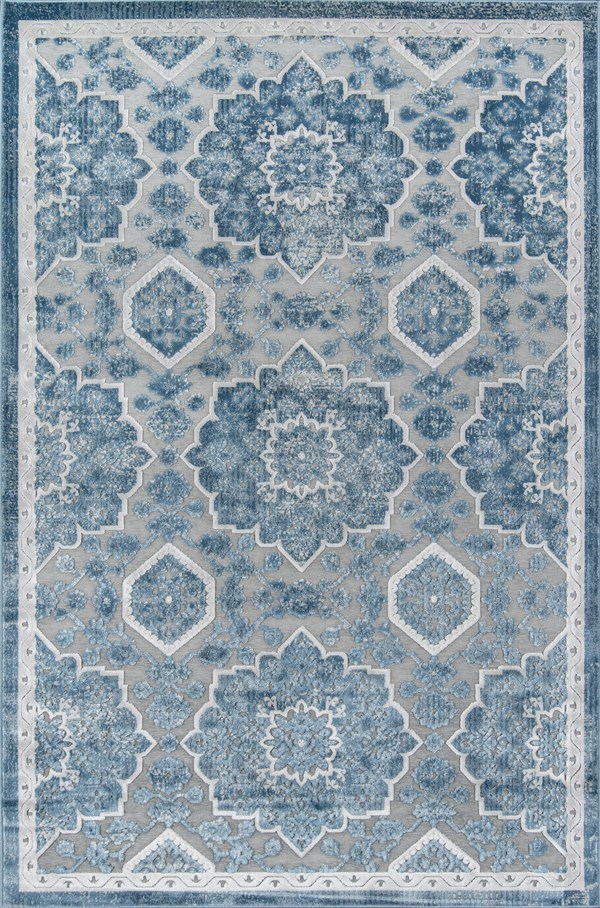 Blue Traditional / Oriental Area Rug