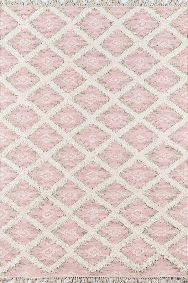 Pink Southwestern / Lodge Area Rug